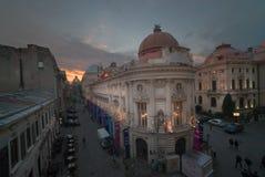 La capitale de Bucarest photos stock