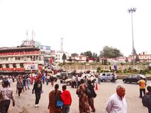 La capitale de l'état du nord-est de Nagaland, Kohima photographie stock