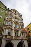 La capitale de la terre fédérale du Tyrol - l'Innsbruk Photo stock