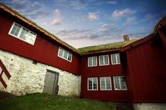 La capitale de Torshavn dans les îles de Faore Photos libres de droits