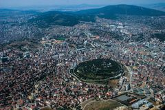 La capitale de la Turquie est Istanbul photographie stock