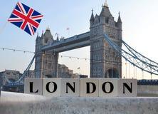 La capitale della Gran Bretagna Londra Immagine Stock