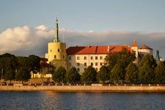 La capitale della Lettonia Fotografia Stock Libera da Diritti