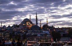 La capitale della Turchia, Costantinopoli Europa, sultanahmet fotografie stock