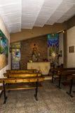 La cappella del campo di Nou Immagine Stock