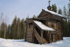 La cappella del nord Immagini Stock Libere da Diritti
