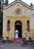 La cappella del vescovo della cattedrale Jaffna di St Mary Fotografia Stock Libera da Diritti