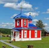 La cappella dell'ascensione è stata costruita nel secolo XIX Nell'architettura degli elementi visibili di costruzione di classici immagini stock libere da diritti