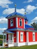 La cappella dell'ascensione è stata costruita nel secolo XIX Nell'architettura degli elementi visibili di costruzione di classici fotografia stock
