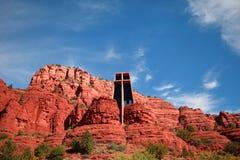 La cappella della traversa santa, Sedona, Arizona Fotografie Stock Libere da Diritti