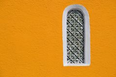 la cappella dettaglia la finestra Fotografie Stock