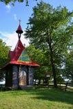 La cappella di legno Immagine Stock