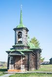 La cappella di Savvatiya e di Efsima Solovetskikh La Russia Fotografie Stock Libere da Diritti