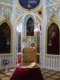 La cappella gotica nel peterhof, Alessandria. Fotografie Stock Libere da Diritti