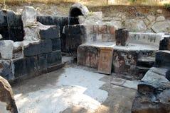 La cappella Poxos Petros in Akunq, Armenia Fotografia Stock