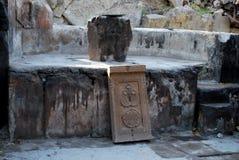 La cappella Poxos Petros in distretto Kotayk, Armenia Fotografia Stock Libera da Diritti