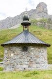 La cappella sul passaggio di Chiusa Immagini Stock Libere da Diritti