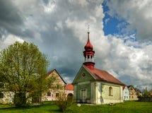 La cappella verde Fotografie Stock Libere da Diritti
