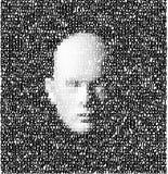 la cara 3d hizo cartas del ââof Fotografía de archivo libre de regalías