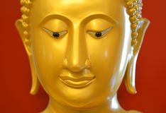 La cara de Buddha Imagenes de archivo