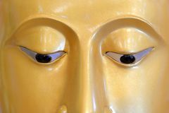 La cara de Buddha Foto de archivo