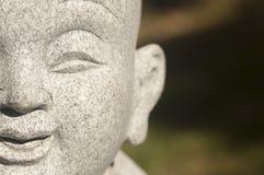 La cara de Buddha Fotografía de archivo