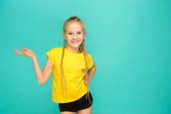 La cara de la muchacha adolescente feliz juguetona Fotos de archivo libres de regalías