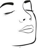 La cara de la mujer libre illustration