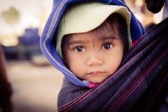La cara de los children's imagen de archivo libre de regalías