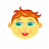 La cara del ` s del niño Imagen de archivo