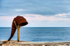 La Caracola in een Coruna, Galicië, Spanje Stock Afbeeldingen