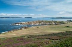 La Caracola en el La Coruna, Galicia, España Imágenes de archivo libres de regalías