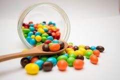 La caramella nella tazza Fotografia Stock