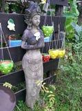 La caratteristica decorativa per il giardino, alloggia all'aperto Immagini Stock Libere da Diritti