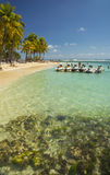 La Caravelle Beach, Guadeloupe, Caribbean Stock Images