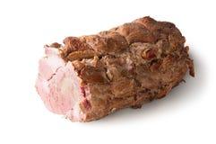 La carne di maiale bollita Immagine Stock