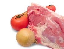 La carne es cerdo Fotografía de archivo