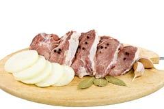 La carne non è scheda di taglio. fotografie stock libere da diritti