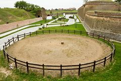 La Carolina alba Fortezza-Cetatea de la Alba Iulia Fotografia Stock Libera da Diritti