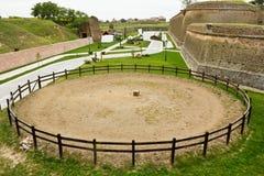 La Caroline alba Forteresse-Cetatea de la Alba Iulia Photo libre de droits