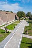 La Caroline alba Forteresse-Cetatea de la Alba Iulia Image libre de droits