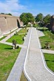 La Caroline alba Forteresse-Cetatea de la Alba Iulia Image stock