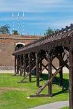 La Caroline alba Forteresse-Cetatea de la Alba Iulia Images stock