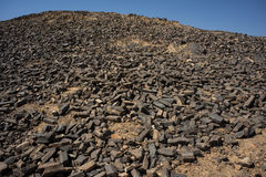 La carpintería en el cráter de Ramón Fotografía de archivo libre de regalías