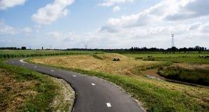 La carretera con curvas imagen de archivo libre de regalías