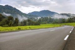 La carretera de asfalto Foto de archivo