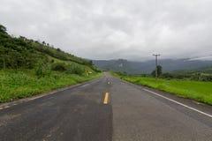 La carretera nacional Fotos de archivo libres de regalías