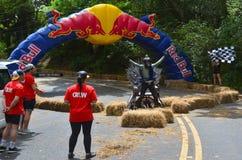 La carretilla Grand Prix 2015 de Red Bull Foto de archivo