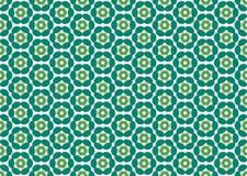 La carta da parati con i fiori di colore fa lo smeraldo Fotografia Stock Libera da Diritti