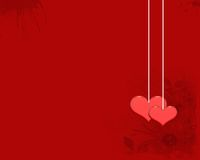 La carta da parati di amore Fotografia Stock